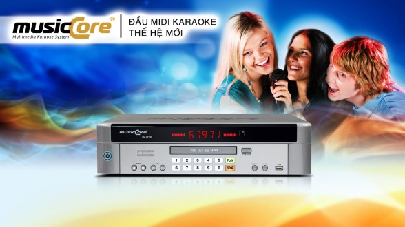 Đầu Karaoke Musiccore TS-7 Plus